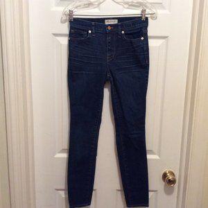 Madewell Jeans 25 High Rise Skinny Dark Wash